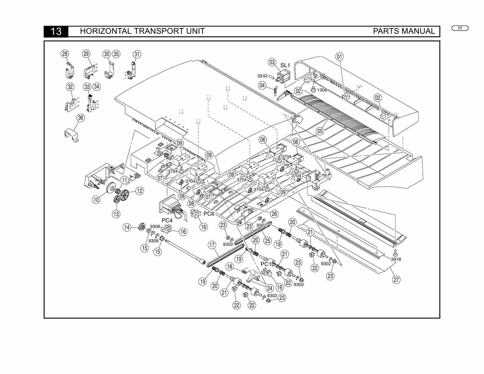 Konica-Minolta Options FN-504 Parts Manual-5